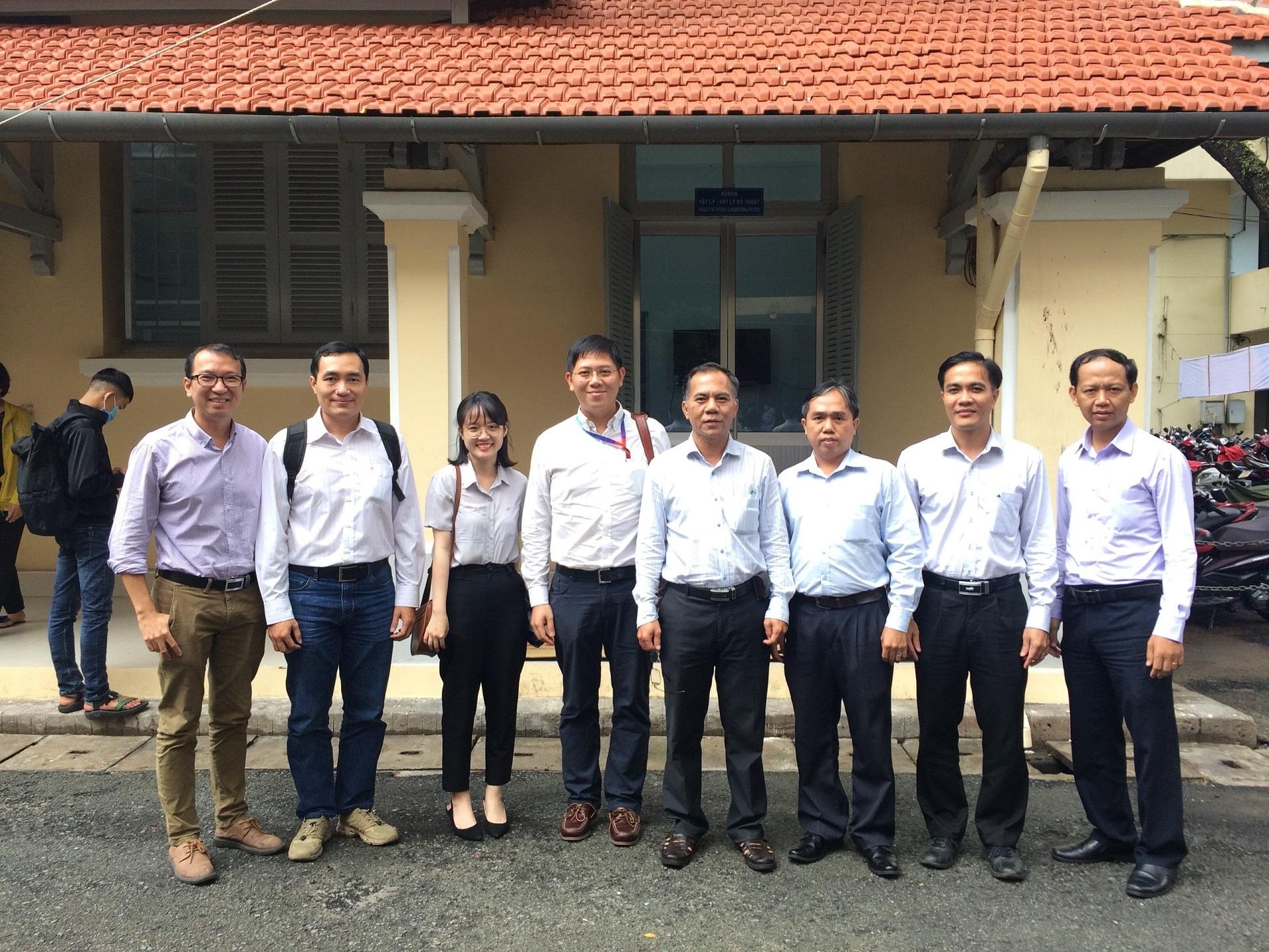 Buổi trao đổi hợp tác giữa Khoa Vật lý - Vật lý kỹ thuật và Tập đoàn Bosch